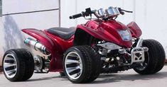 Yamaha Raptor Quad I would normally say this is a waste.  but that looks BAD A$@