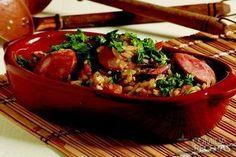 Receita de Arroz tropeiro saboroso em receitas de arroz, veja essa e outras receitas aqui!