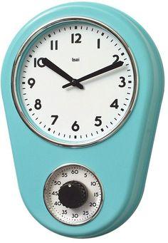 Kitchen Timer Wall Clock