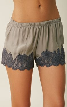cute lace pajama shorts