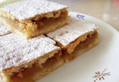 Almás lepény Katától Hungarian Recipes, Hungarian Food, Sweet Cakes, Cake Cookies, Nutella, French Toast, Sweets, Bread, Baking
