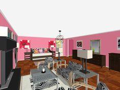 RoomSketcher: 3D Floor Plan Tool For Interior Design Students  #floorplans #floorplan #interiordesign #students  http://blog.roomsketcher.com/roomsketcher-3d-floor-plan-tool-for-interior-design-students/