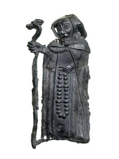 Pilgrim Badge, MoL, Permanent CollectionProduction Date: Late Medieval; late 14th century ID no: SWA81[0]<965>