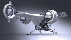 Oblivion: Fantastic Bubbleship Concept Art | GamesRadar+