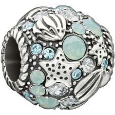 "Authentic Chamilia Sterling Silver Charm ""Buried Treasure"" w/Blue Multi Swarovski Chamilia http://smile.amazon.com/dp/B00JBR7PW4/ref=cm_sw_r_pi_dp_wxz8ub1421VX5"