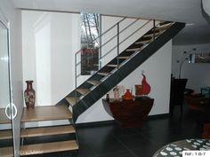 Fabricant escalier un quart tournant Bretagne : Vannes, Rennes, Nantes.