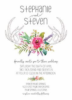 Wedding invitations! These are going to be ours :) Can't wait to get them done!