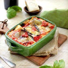 Roasted Vegetable Lasagna by tastefoodblog: Eat your lasagna and have your vegetables too. #Lasagna #Vegetable