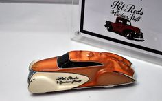 Just A Car Guy : SEMA had hot rod builders Pinewood Derby cars built for racing bragging rights, and then auctioned for Childhelp & Victory Junction Camp charities