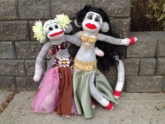 Sock Doll Belly Dancers!