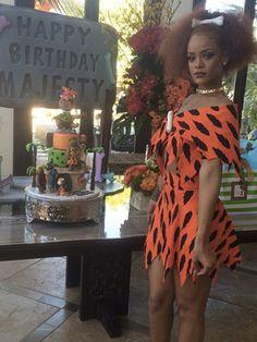Rihanna's Halloween costume