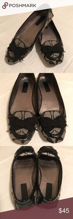 Gently Used Coach Tipper Flats! Gently used!  Classic Coach Tipper Flats! Coach Shoes Flats & Loafers