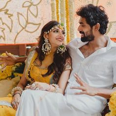 Inside Superstar Rana Dagubbati's Intimate Hyderabad Wedding Celebrity Wedding Photos, Celebrity Couples, Celebrity Weddings, Haldi Ceremony, Amrita Pritam, Celebs, Celebrities, Indian Bridal, Wedding Trends