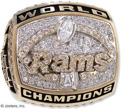 St Louis Rams Football Rings bdb8bb6df