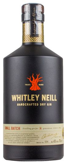 Whitley+Neill+Small+Batch+Handcrafted+Dry+Gin+42%