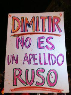 pancartas14n hoy en salamanca nos hemos manifestado tantas personas que era una fiesta y la mejor pancarta