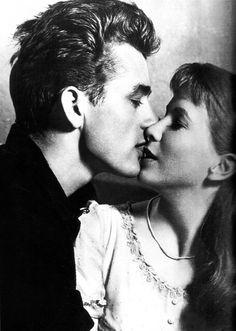 James Dean and Julie Harris. East of Eden