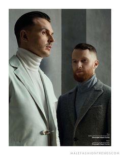 El dueto de synthpop Hurts para la edición No. 55 de ZOO Magazine