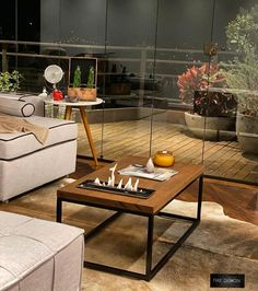 Table, Inspiration, Fire, Furniture, Home Decor, Tabletop Fireplaces, Outside Fireplace, Kitchen Living, Tattoo