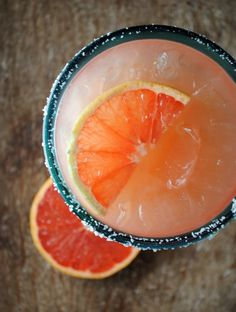 grapefruit margarita!