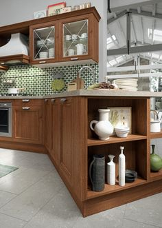 More and more Americans want to age in place rather than move into gated retirement communities making accessibility an important aspect of design throughout the market. The NKBA research found that efficient, European-style design with better access and improved storage solutions was in-demand across a variety of demographics. This kitchen from Aran Cucine's Magistra collection.