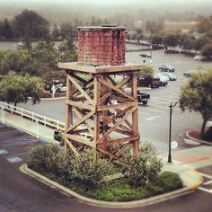 The Barona Water Tower originally built 2003.