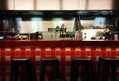 My favorite fast food place: Burger Bar @ Amsterdam