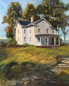 The Summer House by Nita Harper in the FASO Daily Art Show