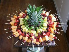 fruit kabobs for party skewers fun / fun kabobs . fun kabobs for kids . fun fruit kabobs for kids . fruit kabobs for party skewers fun . fruit kabobs for party kids fun Fruit Recipes, Appetizer Recipes, Cooking Recipes, Fruit Snacks, Fruit Party, Party Appetizers, Party Recipes, Healthy Snacks, Fun Fruit