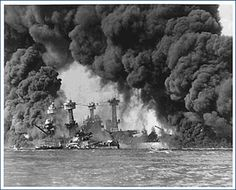 December 7, 1941, the Japanese attack Pearl Harbor.