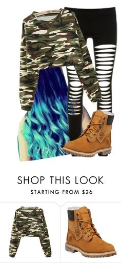 """""""Untitled #10150"""" by imblissedoff ❤ liked on Polyvore featuring Timberland"""
