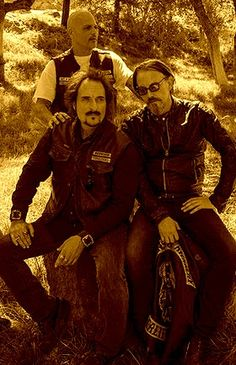 Happy // Tig // Chibs // Sons Of Anarchy