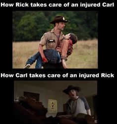 """These """"Top 20 Freaky Memes Walking Dead"""" are especially collected for you.Just scroll down and keep sharing these """"Top 20 Freaky Memes Walking Dead"""" with friends. Carl The Walking Dead, The Walk Dead, Walking Dead Funny, Walking Dead Zombies, Walking Dead Quotes, Walking Dead Cast, Carl Grimes, Rick Grimes Funny, Judith Grimes"""