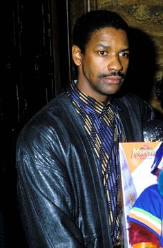 Pin for Later: A Nostalgic Look Back at Celebrities' Earliest Red Carpet Appearances Denzel Washington, 1988