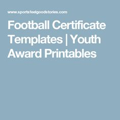 Birth certificate template 31 free word pdf psd format football certificate templates youth award printables yadclub Choice Image