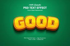 Good Text Effects 3d Text Effect Photoshop, Effects Photoshop, Text Effects, Game Logo, Game Ui, Banners, Typo Design, Graphic Design, 3d Cinema