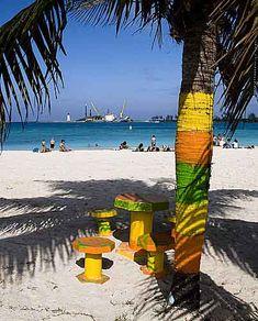 Photograph of Junkanoo Beach Nassau