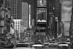Times Square - Pencil Drawing by Jerry Winick