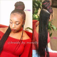 Braids, tribal, lemonade, Nicki Minaj, nicki pony, small braids, neat braids,