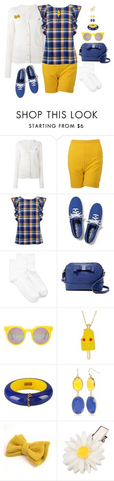 """twee summer"" by djalicat ❤ liked on Polyvore featuring See by Chloé, M.i.h Jeans, Keds, Hue, Jessica Simpson, Quay, Gab+Cos Designs, Dsquared2, New Directions and Catherine Tough"