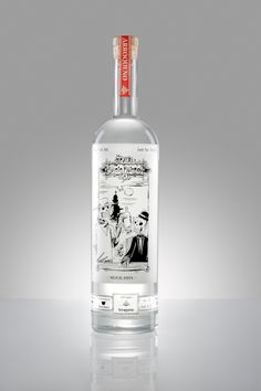"Mezcal ""Los Siete Misterios"" by Michelle Burgos, via Behance"