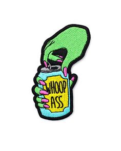 Can Of Whoop Ass Patch