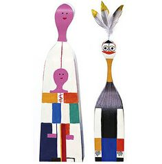 Wooden Dolls designed by Alexander Girard. Made in Poland by Vitra / hive