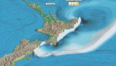 Video shows New Zealand's east coast devastated by megaquake tsunami Tsunami Waves, East Coast, New Zealand, Bring It On, In This Moment, Scientists, Police, Watch, Clock