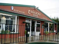 Triona Design In Ardara, Ireland. Spinners of wool garments, and jewelry making. This is where my husband bought my emerald and diamond claddagh. Places Ive Been, Places To Go, Donegal, Claddagh, Tweed, Shawl, Centre, Emerald, Ireland