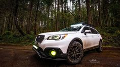 Make:SubaruModel:Outback 3.6R Limited PackageYear:2017Color:Crystal White Pearl  Modifications: Tires:245/65R17 BFGoodrichAll Terrain T/A KO2 Wheels:Motogei MR118 Skid plate:LP Aventure Bumper Guard:LP Aventure(small model) LED bar: RTXline31.5