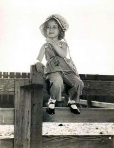 Adorable Shirley Temple.