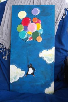 Penguin Project  Panel 1 - Balloons