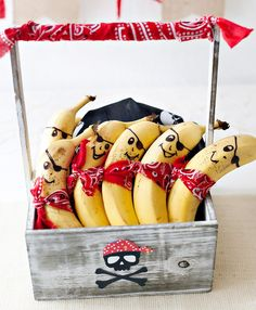 Pirate Bananas - Pirate Party Food