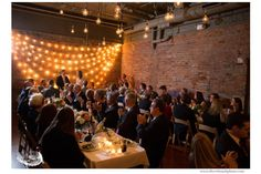 Zingerman's Events on Fourth reception #silverthumbphoto #bride #groom #speech #zingerman's #annarbor